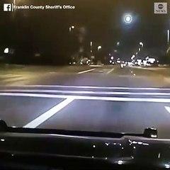 Ce conducteur ivre percute la mauvaise voiture... celle de la police