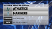 Athletics @ Mariners Game Preview for JUL 25 -  4:10 PM ET