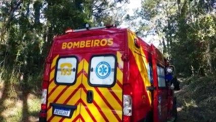 Homem de 53 anos fere o rosto ao sofrer queda de bicicleta na Estrada São Brás