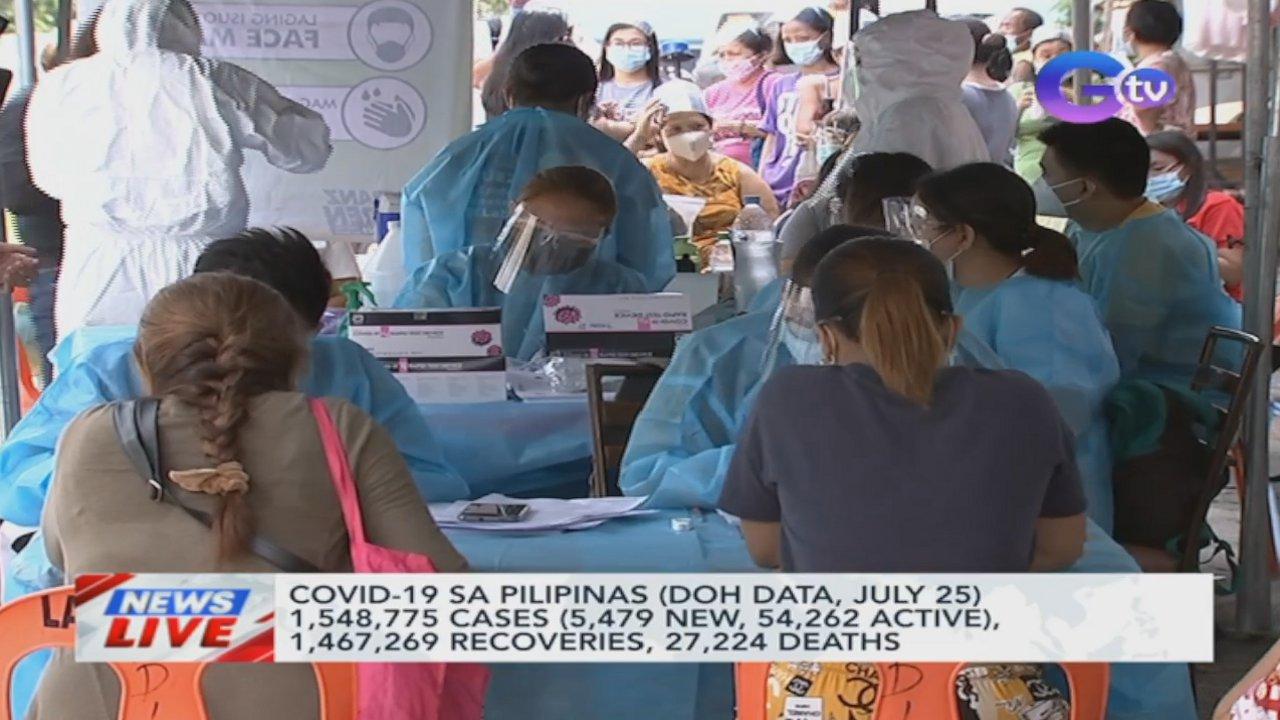 COVID-19 sa Pilipinas (DOH data, July 25)) | News Live
