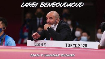 Jeux olympiques Tokyo 2021 – Larbi Benboudaoud : « Impossible de la gronder en sortant »