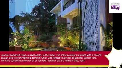 Jennifer Wingets Beautiful Villa In Goa Is A Paradise To Reside See Pics