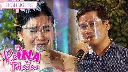 ReiNanay Claris seeks attention from his partner | It's Showtime Reina Ng Tahanan