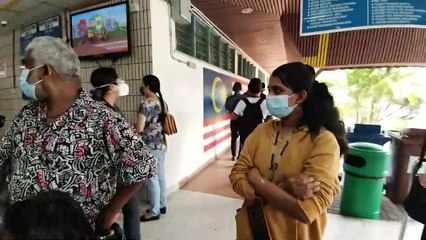 Contract doctors protest employment status in Penang