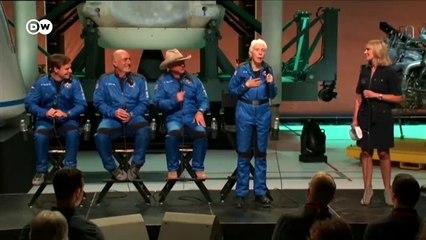 Amazon's Jeff Bezos wins second in billionaire space race