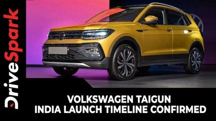 Volkswagen Taigun India Launch Timeline Confirmed | India Launch Soon