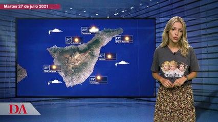 La previsión del tiempo en Canarias para el 27 de julio de 2021