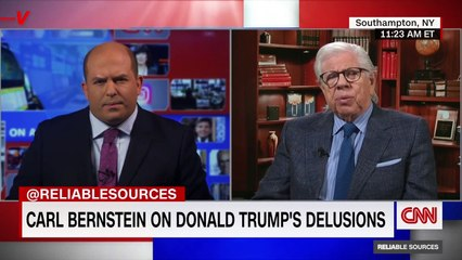 Former Watergate Reporter Says Trump is 'Our Own American War Criminal' After COVID and Capitol Riot