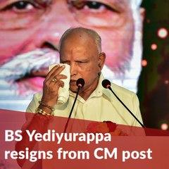 'End of agni pariksha': Yediyurappa breaks down as he announces resignation