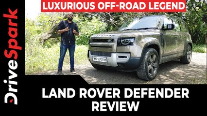 Land Rover Defender 110 Review — Features, Engine Performance & Driving Impressions | DriveSpark