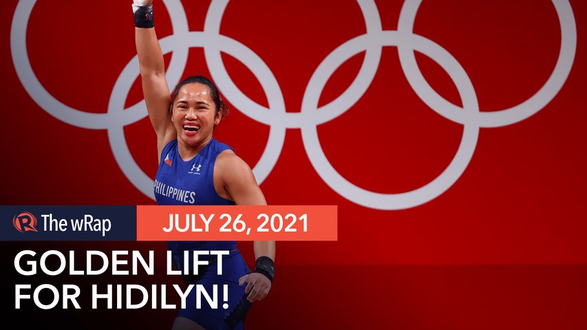 Golden lift: Hidilyn Diaz captures historic Olympic gold