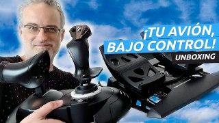 ¡Siente el avión! Unboxing de T. Flight Full Kit X, unas mandos ideales para Flight Simulator