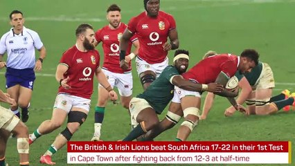 South Africa v The Lions - First Test Review