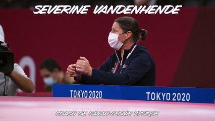 Jeux olympiques Tokyo 2021 - Séverine Vandenhende : « Sur une action, tout part en fumée »