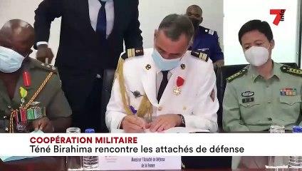 Coopération militaire : Téné Birahima rencontre les attachés de défense