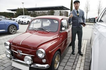L'amusante Fiat 600 de Sergio Ramos au PSG