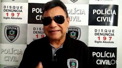Delegado diz que suspeita de assassinar jovem em sítio de Cajazeiras, usa tornozeleira eletrônica