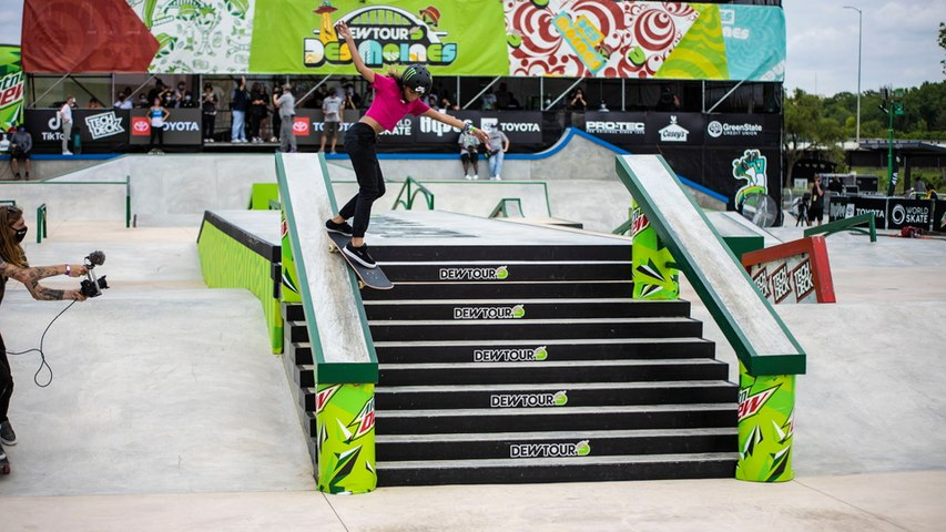 Video Highlights: Best of Rayssa Leal| Dew Tour Des Moines 2021