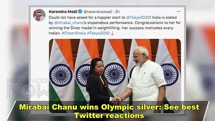 Tokyo Olympic 2020 - Mirabai Chanu Wins Olympic Silver - Kangana Ranaut & Stars React