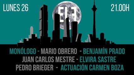 Juan Carlos Monedero: poetas españoles de hoy - En la Frontera, 26 de julio de 2021
