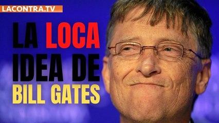 Bill Gates quiere enfriar la Tierra mandando millones de toneladas de tiza a la estratosfera