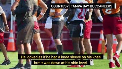 Arians unfazed by Brady's new knee sleeve