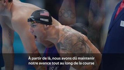 Natation - Becker revient sur le sacre du relais américain