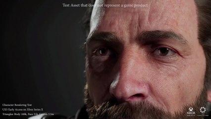 Xbox Series X   S - Tech Demo UE5 - Rendering Personaggio