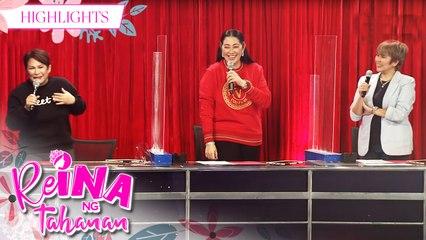 Vice and Vhong teases Ruffa's outfit | It's Showtime Reina Ng Tahanan