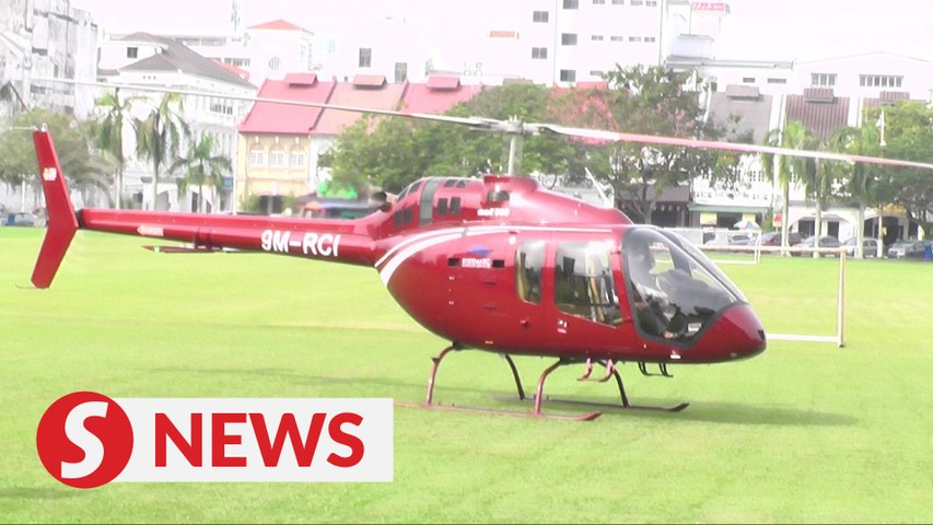 Cops: 'Nasi ganja' chopper had permit for maintenance work, not food pickup