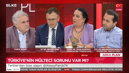 Arka Plan - Vişne Korkmaz | Mehmet Sarı | Abdurrahman Babacan | 26 Temmuz 2021