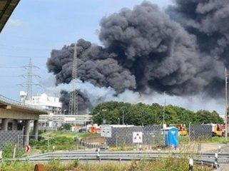"""""""Extreme Gefahr"""": Heftige Explosion im Chempark erschüttert Leverkusen"""