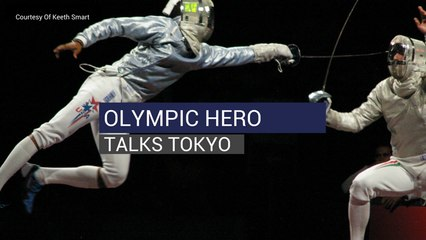 Olympic Hero Talks Tokyo