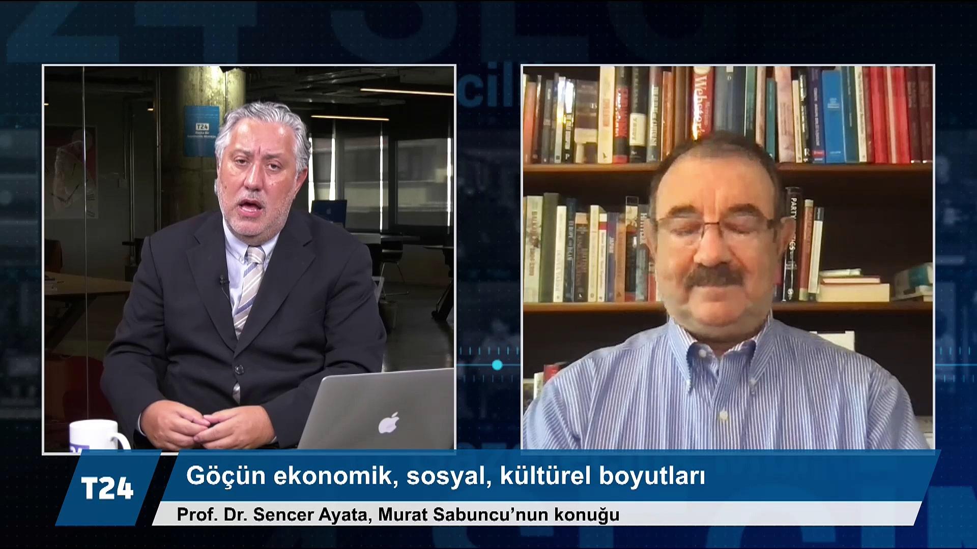 Prof. Sencer Ayata: Göçe tepkiler farklı, sorun çok boyutlu