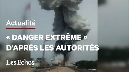 Explosion sur un site de traitement de déchets en Allemagne