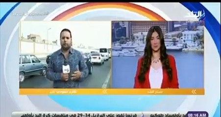 مذيع مصري يتعرض لحادث على الهواء مباشرة
