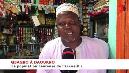 Gbagbo à Daoukro : la population heureuse de l'accueillir
