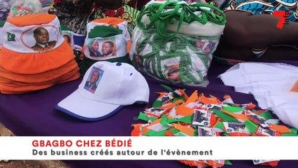 Gbagbo chez Bédié - des business crées autour de l'évènement