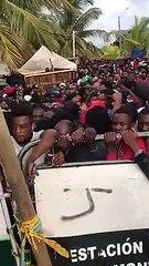 10.000 haitianos y africanos tratan de pasar la frontera de Urabá a Panamá