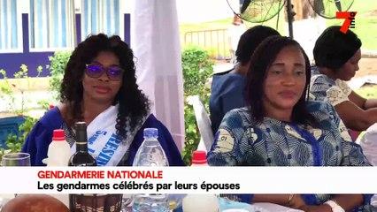 Gendarmerie nationale : les gendarmes célébrés par leurs épouses