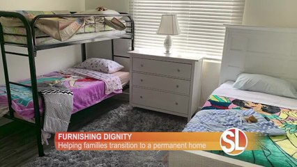 Furnishing Dignity helps people transitioning from the shelter to their new home