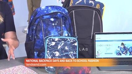 Lands' End National Backpack Day deals
