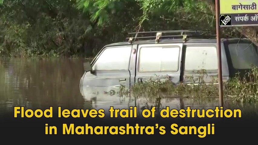 Flood leaves trail of destruction in Maharashtra's Sangli
