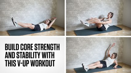 Build Core Strength and Stability With This V-Up Workout