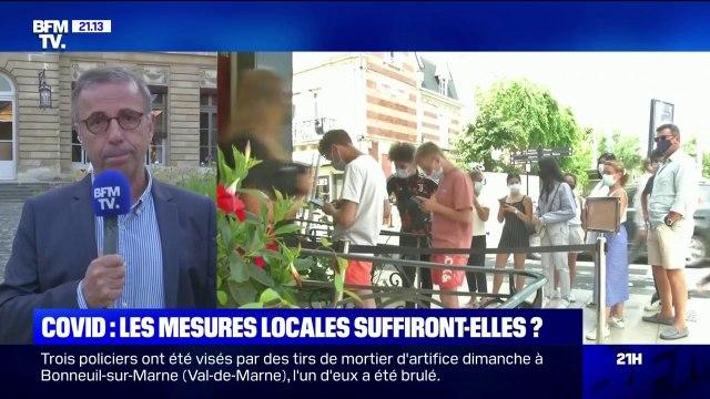 Masque obligatoire en Gironde: le maire de Bordeaux Pierre Hurmic juge qu'il