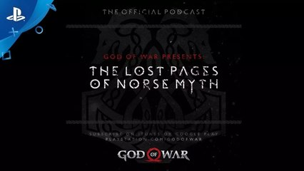"""God of War - The Lost Pages of Norse Myth – Episode 3: """"The Dead Stone Mason"""" 