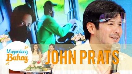 John recounts when he rode a dump truck to It's Showtime | Magandang Buhay
