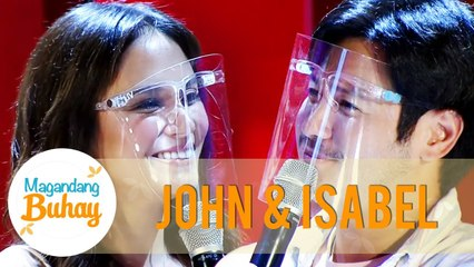 John and Isabel say their vows to each other | Magandang Buhay