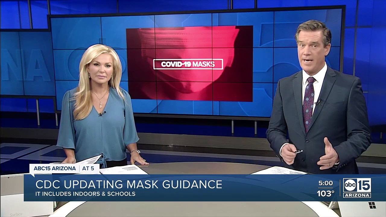 CDC updating its mask guidance