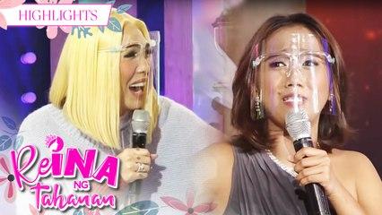ReiNanay Toyang repeats her introduction 3 times | It's Showtime Reina Ng Tahanan